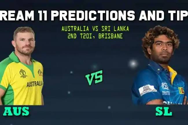 Dream11 Predictions - 2nd T20 Team AUS vs SL - Today's Predictions