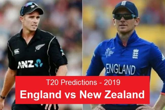 Dream11 Predictions - 1st T20 Team ENG vs NZ - Today's Predictions