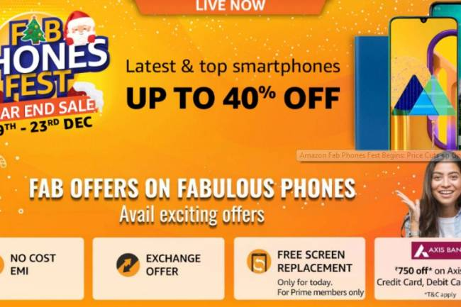 Amazon Fab Phones Fest is Live: Price Cuts on OnePlus 7T, Redmi K20 Pro, OnePlus 7 Pro, and More Exciting Offers