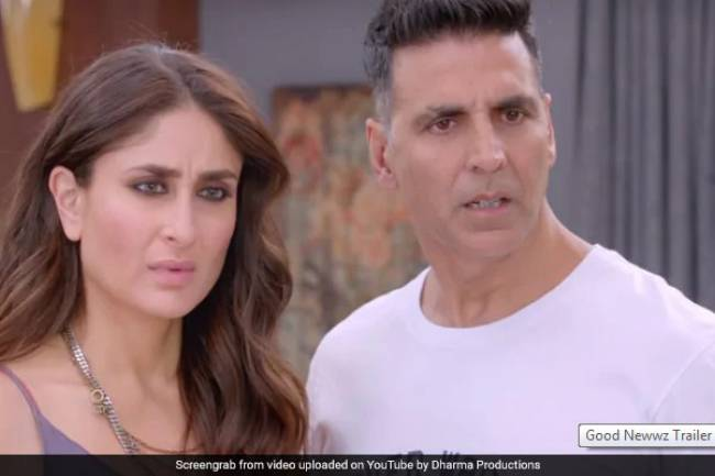 Akshay Kumar, Kareena Kapoor With Happy-Go-Lucky Couple Kiara Advani, Diljit Dosanjh in Movie Good Newwz Second Trailer: