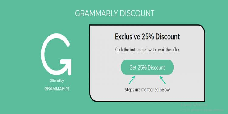 Grammarly Exclusive Discount 2020 Save 25% Money on Every Plan